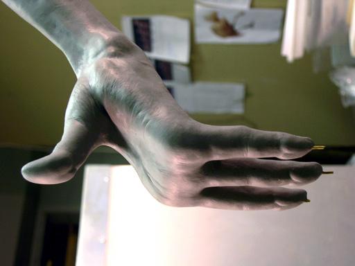 ann mclaren - sculpture - makeup effects